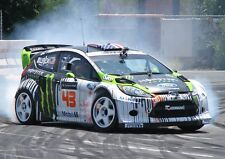 Ken Block Ford Rally 2 A3 POSTER S482