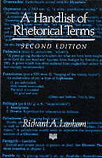A Handlist of Rhetorical Terms by Richard A. Lanham (Paperback, 1991)