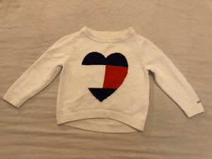 Girl Tommy Hilfiger Jumper Age 4-5years