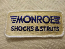 Monroe Shocks & Struts Patch for a Jacket or Hat, etc. Free U.S. Shipping!