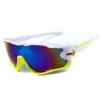 Ski Snowboard Sunglasses White Yellow Snow Board Helmet Polarized Sun Glasses