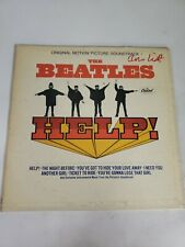Vintage Vinyl The Beatles Help! Soundtrack LP Record Album Jj4c