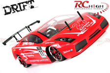 HSP Lambo Style 1:10 Scale Radio Control RTR RC Nitro Drift Car w/16cxp Motor