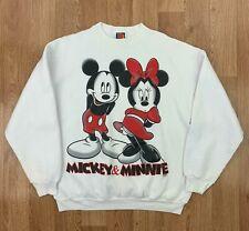 Vintage MICKEY UNLIMITED Mens Sweatshirt   JERRY LEIGH Disney   XL White