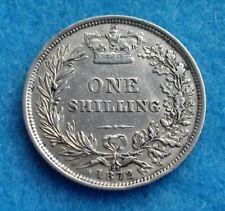 1872 Victoria Shilling -die no 127