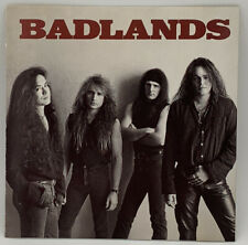 Self Titled by Badlands CD 1989 Atlantic Authentic Press Jake E. Lee Ray Gillen