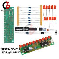 10PCS NE555+CD4017 LED Light Water DIY Kit Electronic Suite Water Lamp Module
