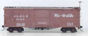 Sn3 Narrow Gauge #3123 D&RGW Camel Door Version BOX CAR Weathered ~ T130F