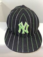 New Era 59Fifty Hat Mens MLB Team New York Yankees Fitted 5950 Cap Size 7 3/8