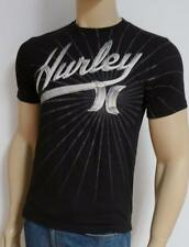 Hurley 7th Inning Black Cotton Regular Fit T-Shirt New NWT Men's Small