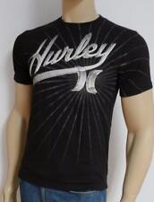 Hurley 7th Inning Black Cotton Regular Fit T-Shirt New NWT Men's Small
