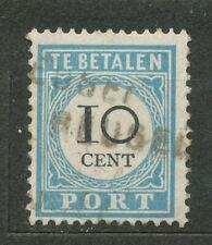 Nederland Port   7 B I gebruikt (2) met langstempel REUSEL