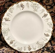 """Royal Crown Derby Vine Gold Dinner Plate 10 3/8"""" (multiple available)"""