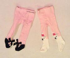 Laura Ashley Pink Tights Ballet Shoes 0-9 mos & Pink Polar Bear Tights