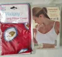 Emma Jane Next Generation Nursing Maternity Bra 32 + Nursing Pillow Cover