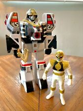 1993 Power Rangers White Tigerzord & White Ranger (Japanese DaiRanger Version)
