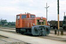 OBB Jenbacher Werke loco 2060.81 Tulln, 1966 Austrian Rail Photo ERO576 b