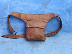 leather hip bag, thigh bag, belt bag, holster bag, utility belt, waist bag, fann