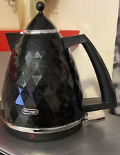 De'Longhi KBJ3001 Brillante 360 Base Rapid Boil Kettle 3kW 1.7L - Black NO BASE