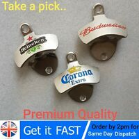 Wall Mounted Bottle Top Opener Beer Bar Pub Restaurant Bar ware, Various..