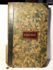 19thC Victorian Scrap Book 300 Pasted in Famous Pictorial Engravings