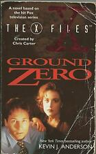 Ground Zero by Kevin J Anderson - X Files novel