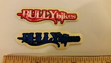 BULLY BMX STICKERS PAIR