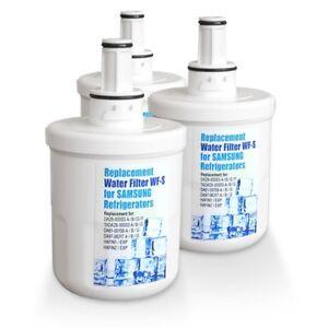 3x Water Filter WF-S ,Compatible DA29-00003G, DA29-00003F Fridge Filter 3G2