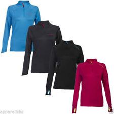 Polyester Regular Size Zip Neck Hoodies & Sweats for Women