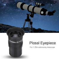 "Datyson 1.25"" Plossl 25mm Fully Multicoated Eyepiece For Astronomy Telescope NEW"