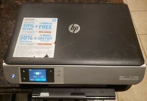Used HP ENVY 5530 Wireless All-in-One Color Inkjet Photo Printer Copier Scanner