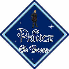 Disney Prince On Board Car Sign - Baby On Board - Frozen Kristoff DB