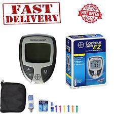 Glucometer Blood Glucose Starter Kit Sugar Monitoring Test Diabetes Diabetic Set