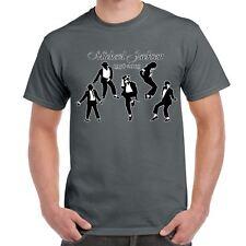 Music Dance tshirts-Michael Jackson 1958-2009 Dancing Silhouttes-Mens Gifts