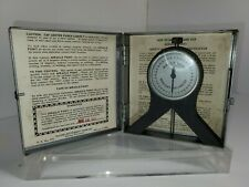 RACINE MODEL 10 MIRACLE POINT CENTERING INDICATOR MERCURY BALANCE WITH CASE 1966