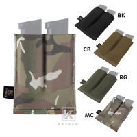 KRYDEX 9mm Pistol Mag Pouches Double Open Top Tactical Magazine Holsters MOLLE