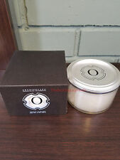 Archipelago 1834 Monograms Letter O Soy 3-Wick Candle W/ Lid- NEW IN BOX & FRESH