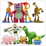 9pcs Toy Story 3 Buzz Lightyear Woody Jessie Action Figures Toys Cake Topper Set