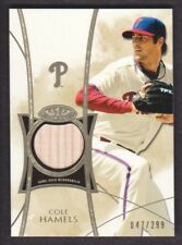 2014 Topps Tier One Relics #TOR-CH Cole Hamels /299 Bat Philadelphia Phillies