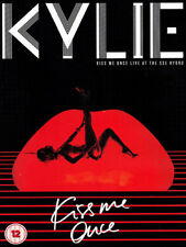 KYLIE MINOGUE KISS ME ONCE LIVE AT THE SSE CD AND DVD NEW
