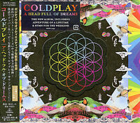 COLDPLAY-A HEAD FULL OF DREAMS-JAPAN CD BONUS TRACK E78