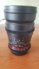 Rokinon Cine EF 35mm t/1.5 L EF Lens