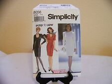 SIMPLICITY MISSES Petite Dress with Neckline Variations  Pattern Size 12-16