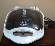 George Foreman Lean Mean Fat Reducing Grilling Machine W/ Bun Warmer Gr10Abw
