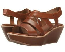 Camper Damas K200080 Brown Womens Ankle Strap Sandals Shoes Size 39 M New
