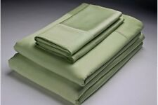 Cool Bamboo Queen Sheet Set 1800 count Olive/Sage Green