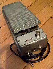 Wah wah box alluminio Wah aluminum box DIY pedals crybaby