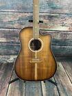 Cole Clark Fat Lady 2 FL2EC BLBL Blackwood Acoustic-Electric Guitar- Sunburst for sale