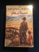 The Grapes of Wrath by John Steinbeck 1st Ed 13th Printing Fine in Very Good  DJ