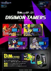 Bandai Vital Bracelet Dim Card GP vol.01 Digimon Tamers PSL